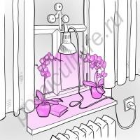 """Светильник светодиодный полного спектра для рассады на окне """"Алькор"""" 50-100Вт с отличным креплением на присосках"""