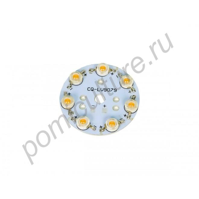 Круглая светодиодная фитосборка мощностью 21Вт